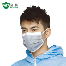 WE-1106 Outdoor sports elevation mask and food industry 4ply disposable carbon face mask