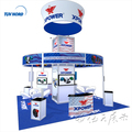 Detian Offer trade show aluminum booth 6x6 exhibition stand exhibition booth stand fair