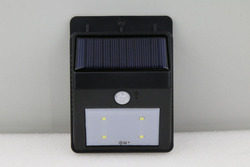 Brand New Customized Solar Panel Triangle Wall Light