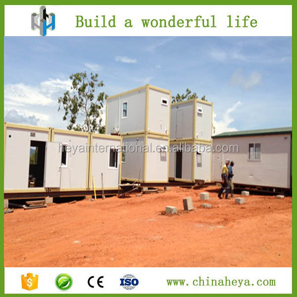 2016 Easy install prebuilt prefabricated container house