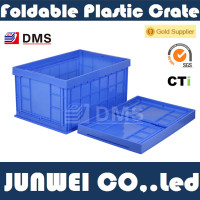 Wholesale 100% Virgin PP Transportion and Storage Plastic Folding Crate 4#