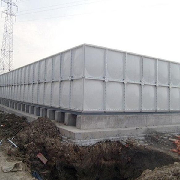 Made in China big size construction site water tank
