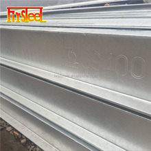 Structural material Steel galvanized h beam fence post