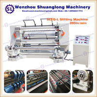 Plastic Film Slitting and Rewinding Machine / Paper/ BOPP/ Nowoven Slitter