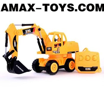 wct-200693 excavator 1:28 Emulational electric powered wire control mini excavator