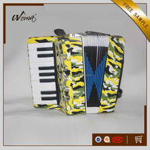 Cheapest 17K8B Children Accordion With Flower Printed