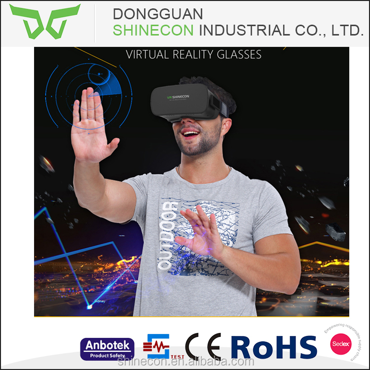 2016 High Quality VR With Octa Core WIFI Bluetooth 3D VR Glasses, all in one 3D glasses