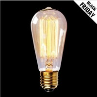Vintage antique style ST64 alibaba best sellers edison style light bulbs