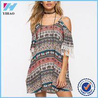 Wholesale 2016 yihao summer new style girls club dress apparel lady fat women dresses pictures