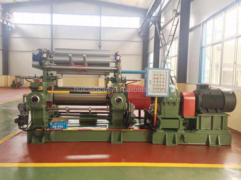 Two Roll Rubber Mixing Mill Price XK-400