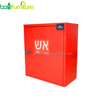 Metal fire cabinet/Metal fire protection cabinet/steel fire hose cabinet