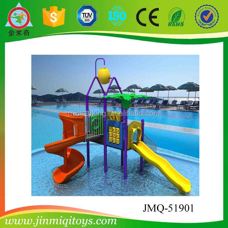 Commercial Mini Water Slide Used In Water Park