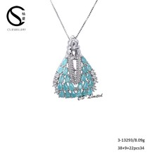 Factory Manufacturer Latest Elegant Design Fashion maria pendant 3-13293