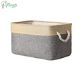 Hot Selling Fabric Storage Bin with Rope Handles