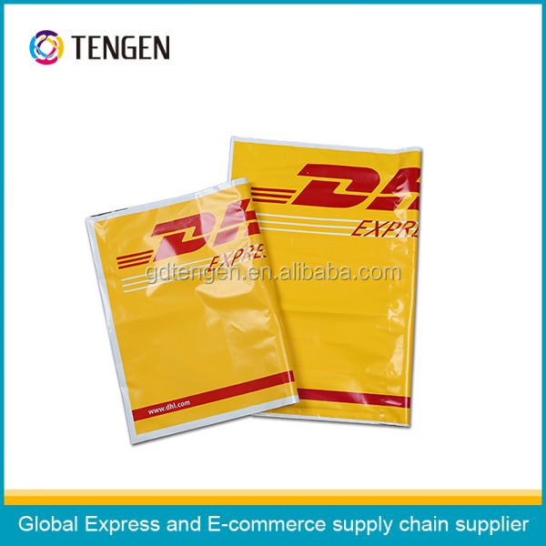 Good quality printed DHL plastic mailer poly bags