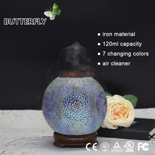 Electronic Cleaner Scented Led Bulb Ultrasonic Air Diffuser For Essential Oils Aromatherapy