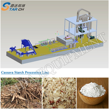 Tapioca starch potato starch cassava flour processing plant