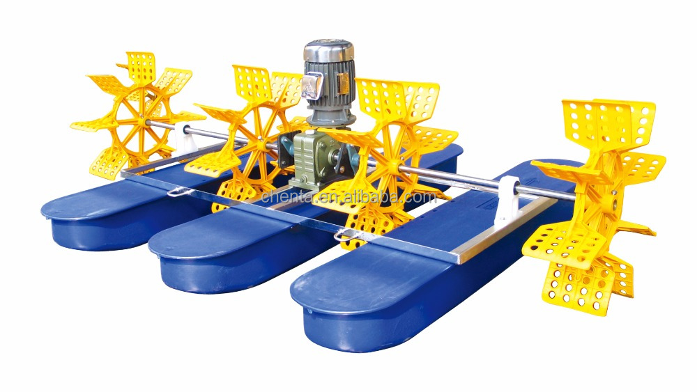 CT-PW 222 (2HP) MODEL Water Paddle Wheel