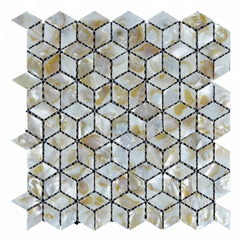 Decorstone24 Nature Seashell Home Improvement Kitchen Backsplash Tile Idea Mosaics