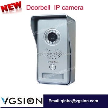 WIFI Motion Detecting Remote Video Duplex Two-Way Intercom Doorbell Home Wireless IP Camera