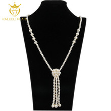 Wholesale body jewelry in china with natural freshwater pearl