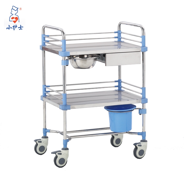 Hot medical cart hospital medical trolley