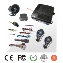 12V auto car security genius car alarm system for south american market