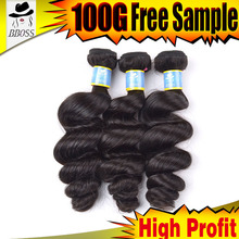 BBOSS can plating hair styles natural arabian hair weave,dark root blonde hair bundles,dark roots human hair ombre weave