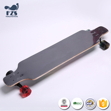 HSJ63 4 wheels Long board Freestyle Longboards super Skateboard