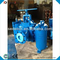 2013 New Model Duplex Type Strainer ( Strainer Valve )
