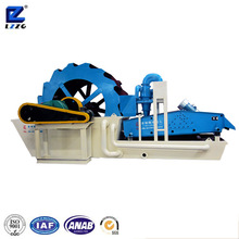 2016 double spray river sand washing and recycling machine