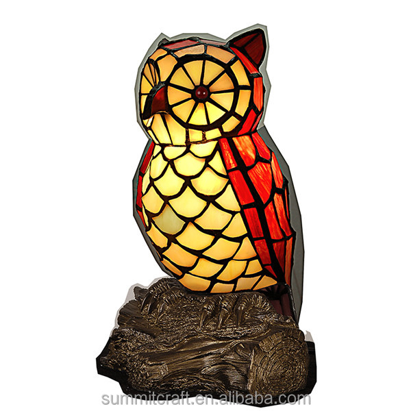 Mini night Light 3d glass owl night light antique animal shaped night lights