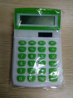 office plastic calculator with solar energy
