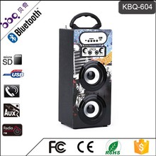 Promotion seasonal speaker with led disco light
