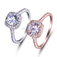 Fashion diamond ring, wedding ring,engagement ring Wholesale NSRI-0001