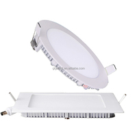 2835 smd high lumens 12w/18w/24w led panel lighting Slim round/ square ceiling downlight