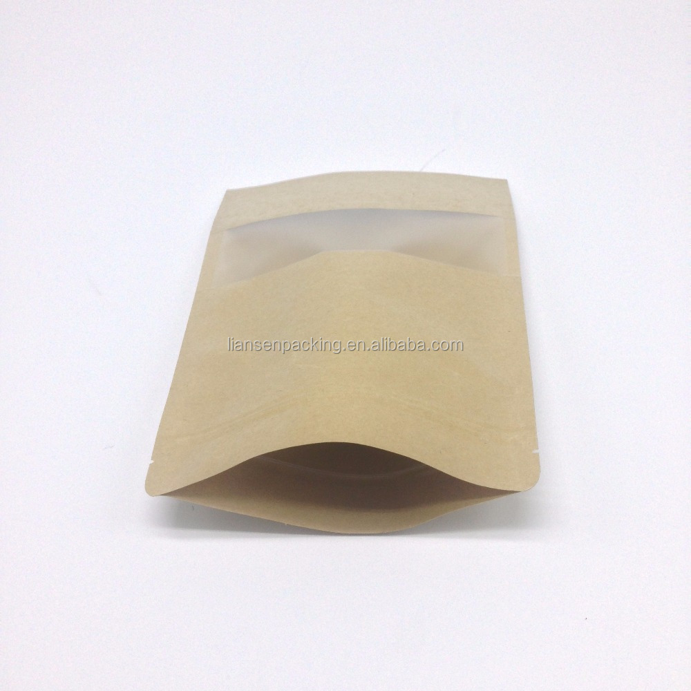 New products to sell Eco-friendly kraft paper packaging for food