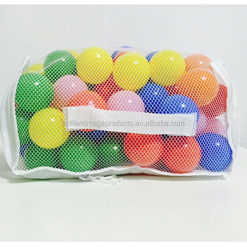 55mm Commercial Grade Colorful Crushproof Plastic Soft Ocean Ball Children Play Pit Ball For Baby Kid Toy Swim Pool Tent
