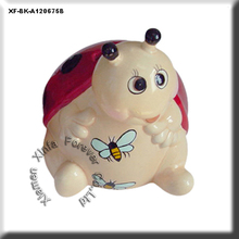 unique paint your own potterys ladybug money box