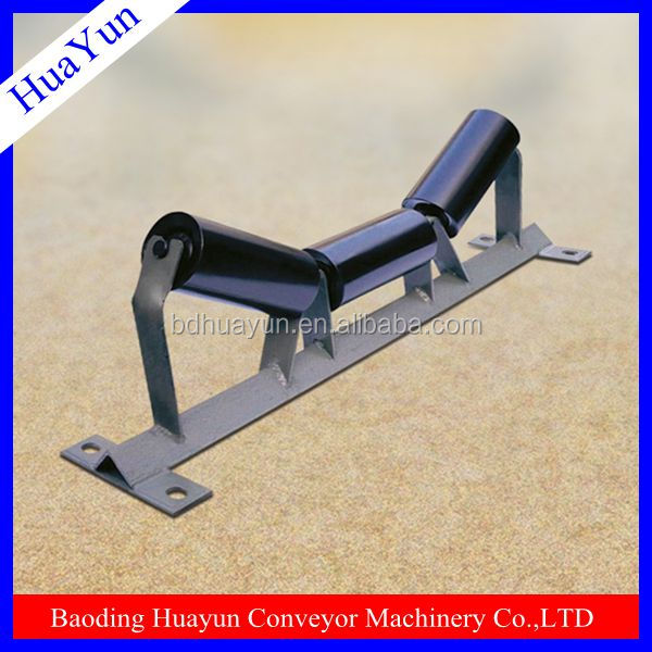 Wheel barrow alex bracket for conveyor belt