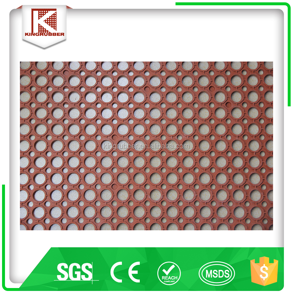 Bevelled Edge Flooring Tiles Heavy Duty Mat Tile