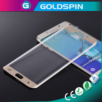 GOLDSPIN LCD Screen Protector Tempered Glass For Samsung S6 edge Screen Ward