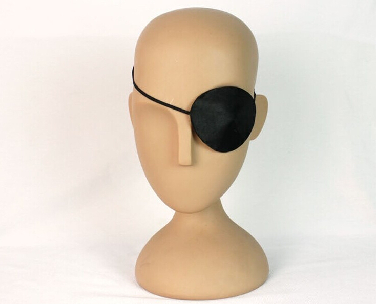 DJ-076yiwu caddy pirate eye patch with EN71 standard for promotion toy