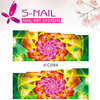 2016 Custom nail art accessory/ holiday nail art sticker/Water transfer 2D nail art decal
