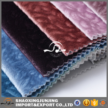 JJ002 Hot sale 100% polyester burnout upholstery fabric for sofa