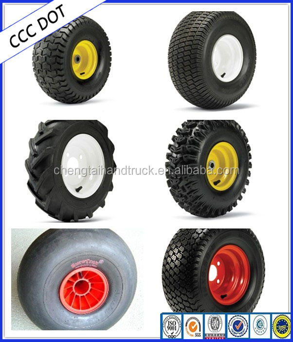 Full size Garden ATV Trailer Wheel with E4 Certification