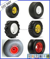 Full size Garden ATV Trailer Wheel with E4 Certification