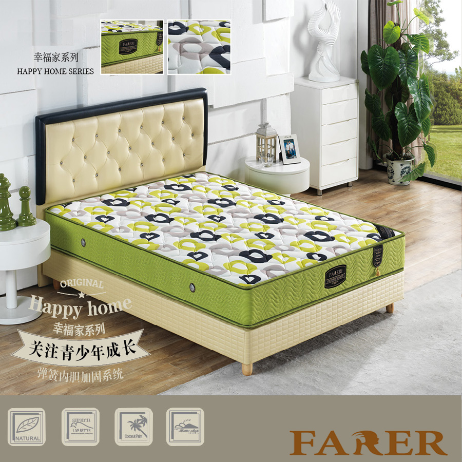 Bedroom furniture type and home furniture general use bed mattress