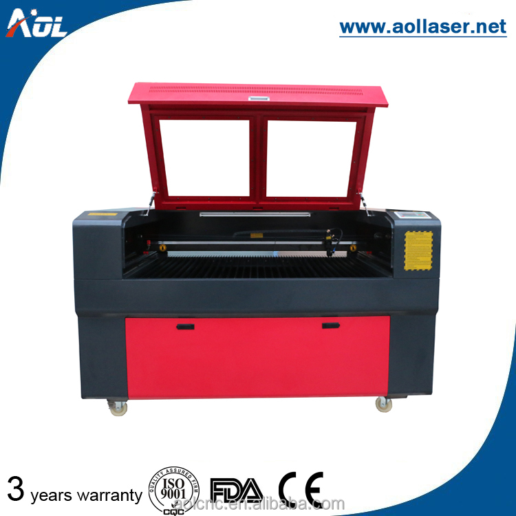 adopt import laser lens cutting mdf with duplicate key machine