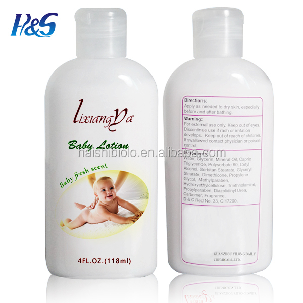 Moisturizing organic body crystal white body whitening lotion
